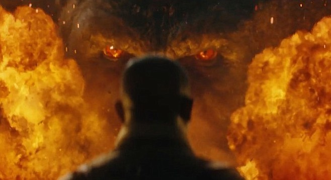 Surprise, surprise, Samuel L. Jackson is the best thing about Kong: Skull Island.