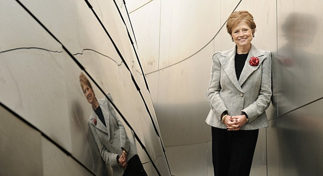 Deborah Borda, general director of the L.A. Philharmonic, makes more than $1 million per year.