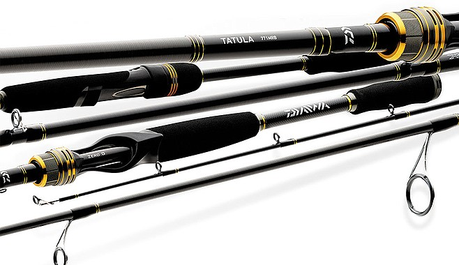 Daiwa bass rods, similar to those stolen from the Chubasco II