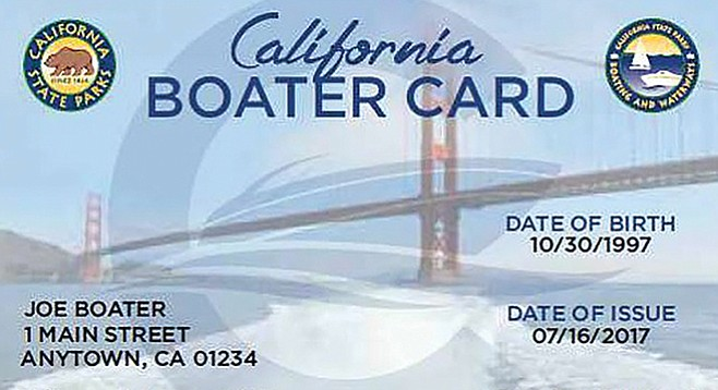 After you pass the course, for $10 your boater card is good for life.