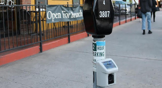 """""""When you remove your car, the meter resets to zero; so the next person has to pay in full to park in the spot."""""""