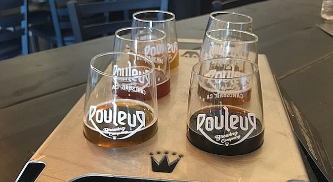 Rouleur's flagship beers blend American styles with Belgian yeasts