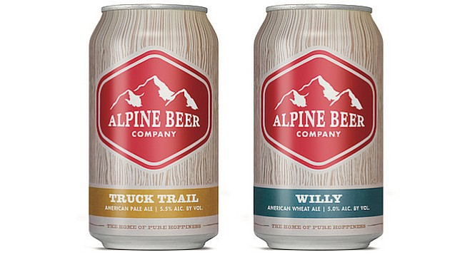 Alpine beers used to be all but impossible to find. This summer they'll be available in cans.