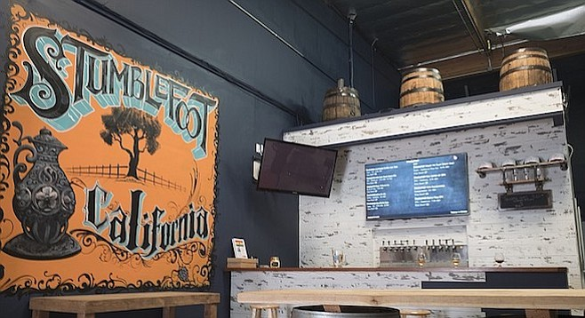 Changes afoot in the Stumblefoot tasting room