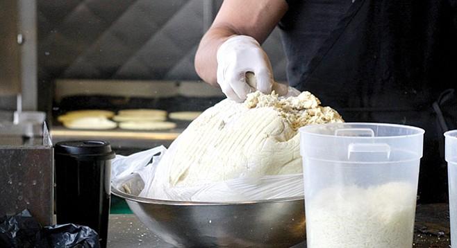 Tacos Perla masa