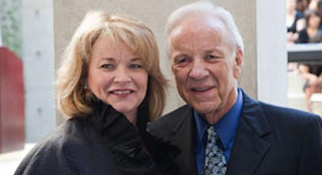 Debra Turner and Conrad Prebys