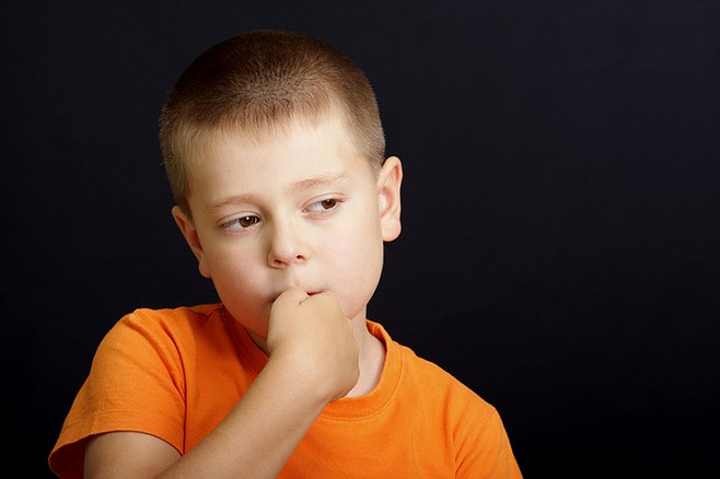 Nail-biting usually beings between the ages of five and six.