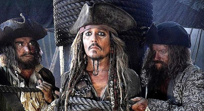 Pirates of the Caribbean: Dead Men Tell No Tales: Depp has nightmares in which he's forced to watch all five Pirate movies in a row.