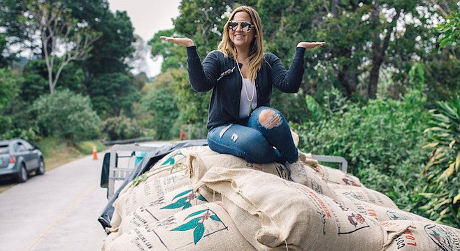 Anny Ruth Pimentel's coffee farm Loma La Gloria has been making a name among San Diego roasters.