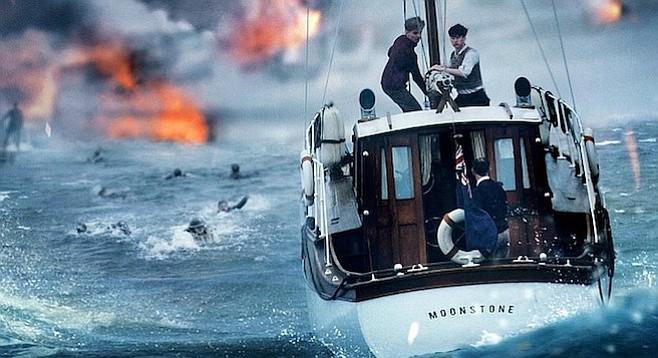 Dunkirk: You. Are. There. Well, not really. But it gets at the feeling.