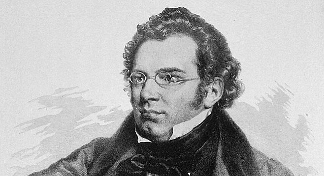 Franz Schubert was derivative AF.