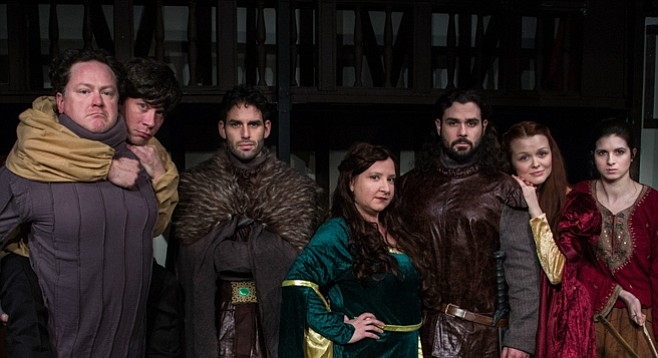 Did any Game of Thrones actors visiting Comic Con drop by to see these actors in the musical version at 10th Avenue Art Space?