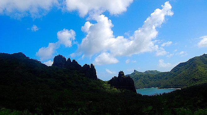 Nuku Hiva, where Herman Melville jumped ship and his first novel, Typee, was set, published 160 years ago.
