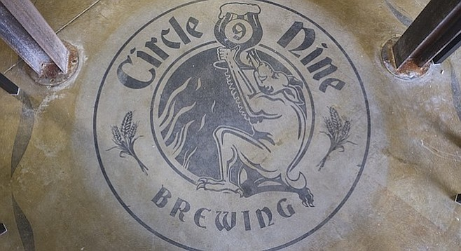 A medieval Italian epic poem inspired the name Circle 9 Brewing.