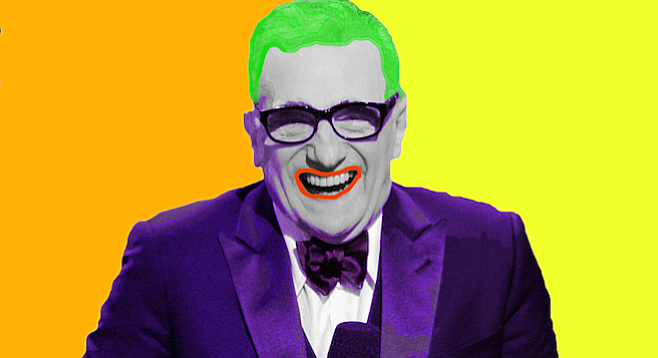 "Martin Scorsese: ""Funny how? Funny like I'm a clown?"""