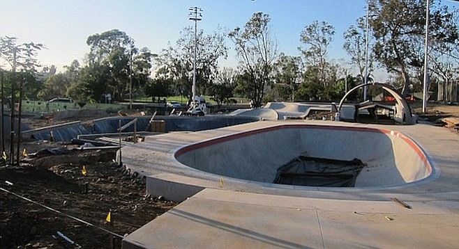 """The park will have something to do for every skill level and the room and open space to skate comfortably in. No one is too green for the skate park nor so good you'll be bored with it."""
