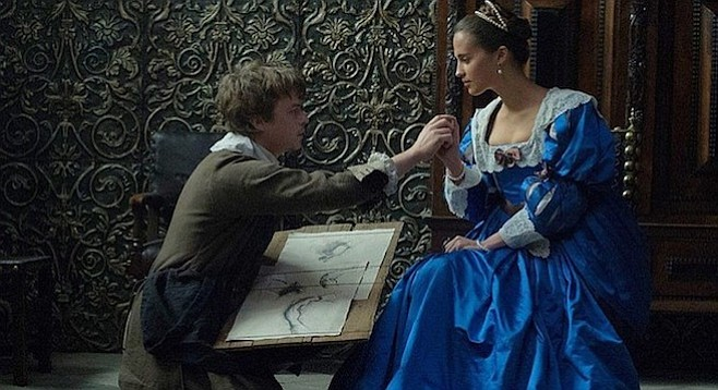 """Tulip Fever:  """"Draw me like one of your French girls."""" """"Dammit, for the last time, I am not Leo's little brother."""""""
