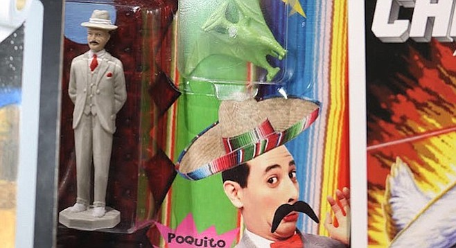 Poquito's Playhouse (a play on Pee-Wee Herman)