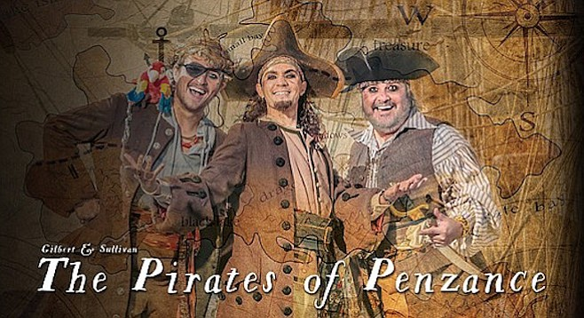 The Pirates of Penzance is the first Gilbert and Sullivan opera/operetta that SDO has ever produced.