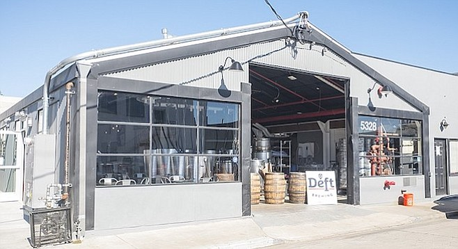 A new brewery just west of Morena Boulevard