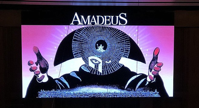 Director's cut of Amadeus at Symphony Hall. Photo Credit: Garrett Harris