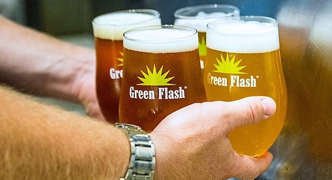 Green Flash was the country's 37th largest craft brewery in 2016.