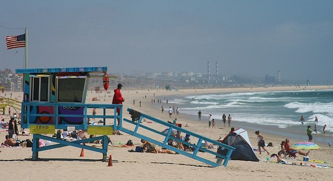 Lifeguards to the rescue   San Diego Reader
