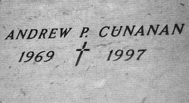 Andrew Cunanan's crypt