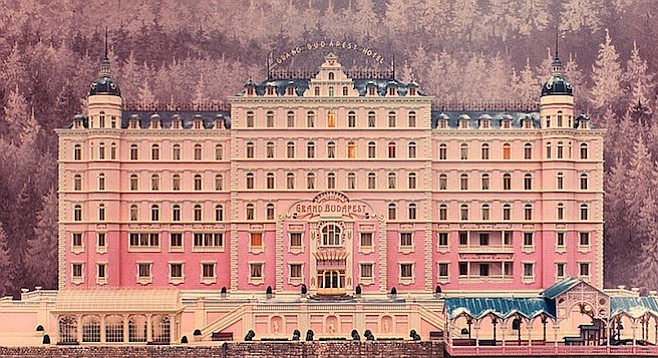 The Grand Budapest Hotel: Layers upon layers