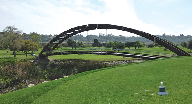 Mission Valley's overpriced, gimicky Riverwalk Golf Course will be replaced by overpriced, gimicky condos.