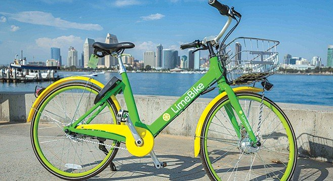 When it needed a permit to park its garish bikes around San Diego, Lime Bike hired pricey local lobbyists.