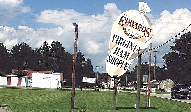 Devastated by a recent smokehouse fire, Edwards Virginia Ham is still a must-stop on your ham explorings.