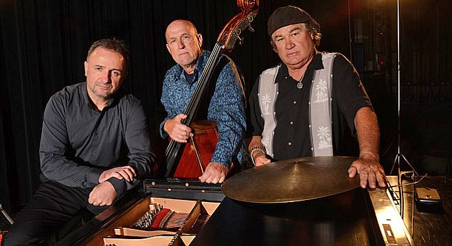 Jazz trio Lower Left plays the 950 Lounge on June 29.