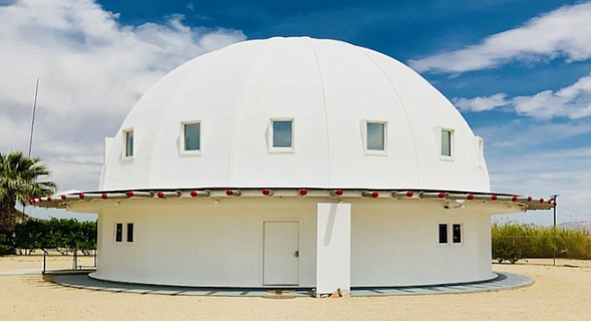 Ufologist George Van Tassel built the Integratron in Landers, CA (near Joshua Tree), supposedly following instructions provided by visitors from the planet Venus.