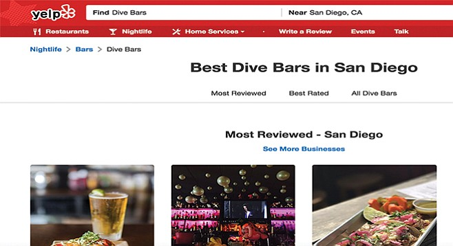Yelp's Best Dive Bars