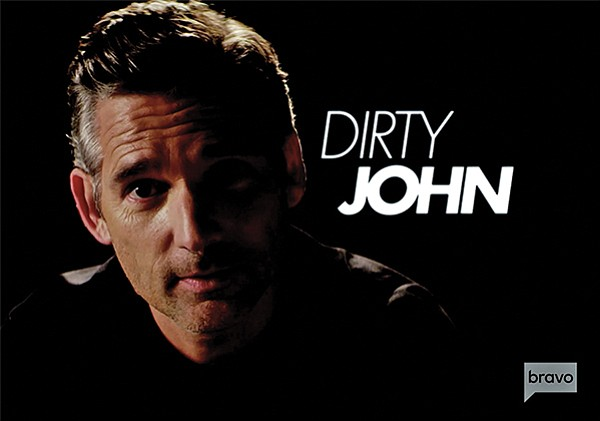 Eric Bana plays John Meehan in Bravo's series Dirty John