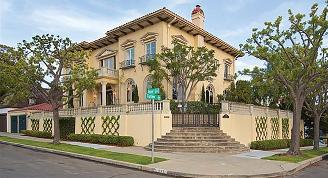 The Herriman's New York home, lovingly reconstructed in San Diego.