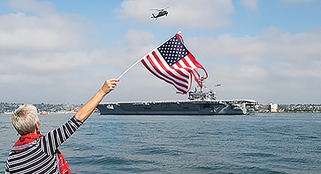 Fleet Week military ship tours