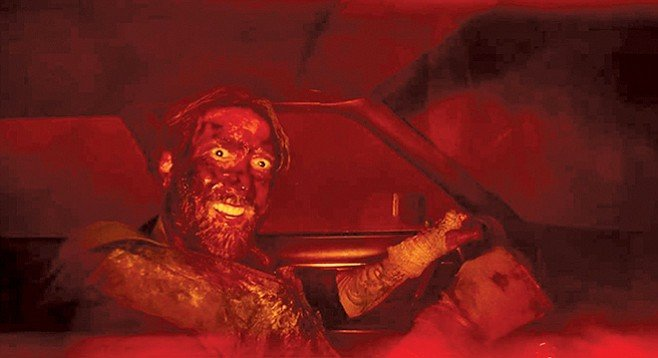Cage uncaged in Mandy.