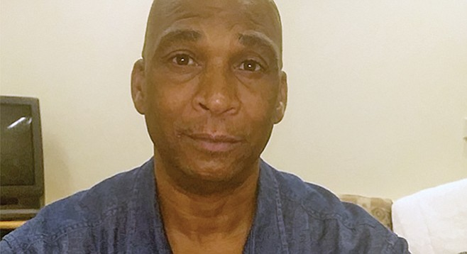 Patrick Wallace, 50, is a sophomore at City College. He served 25 years in state prison for violent crimes.