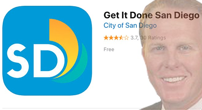 Get It Done San Diego is the official app for reporting non-emergency problems to the City of San Diego.