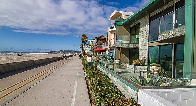 Mission Beach may look idyllic, but it's the battleground in a war between those who make money on short term rentals, and residents who want a less transient neighborhood.