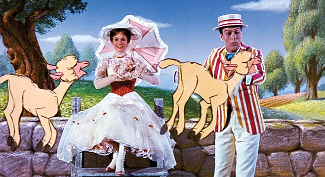 Mary Poppins: Lambs to the laughter.
