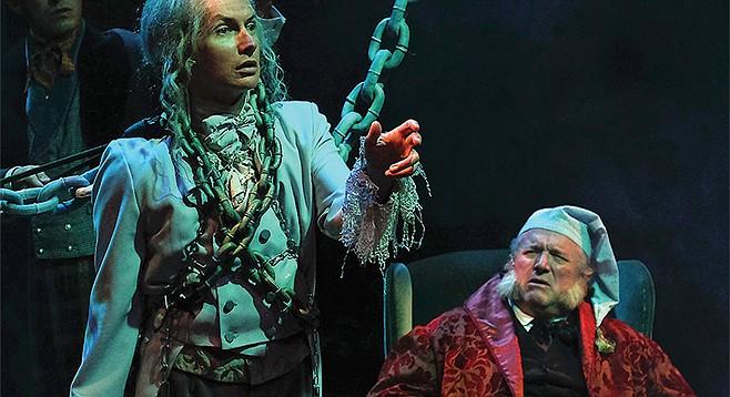 Christmas Carol Scrooge And Marley.You Suck Scrooge San Diego Reader