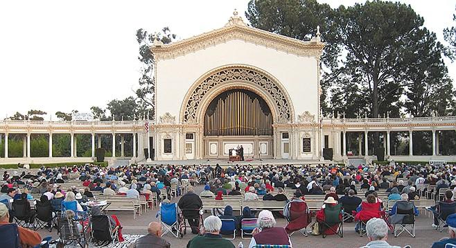 Spreckels Organ Pavilion, Balboa Park