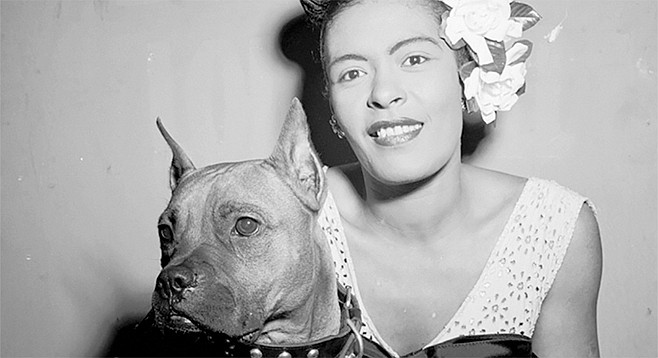 Billie Holiday was a hepster with a dog named Mister