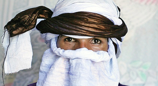 Mdou Moctar once starred in a Tuareg language remake of Purple Rain