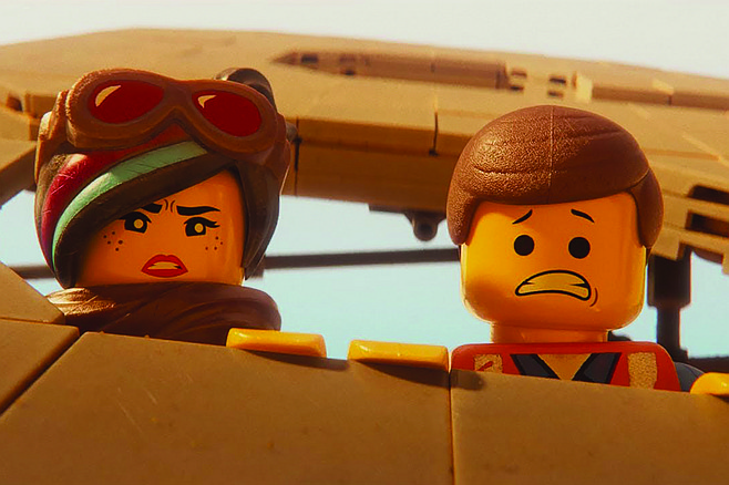 """Lego Movie 2: """"Yikes! It's a long way down from the heights we achieved with the first one!"""""""
