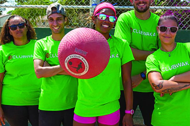 Kickball with Club Waka