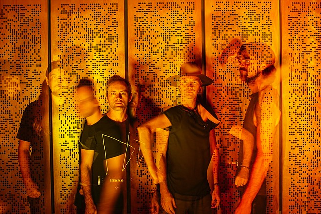 The Faint: Storytelling lyrics unfold increasingly darkwave dirges of social media gone horribly wrong